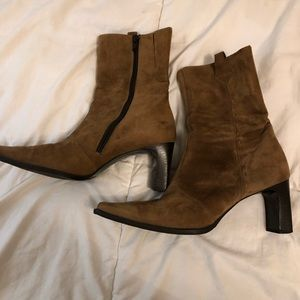 Paul Green suede boots hardly worn!!!